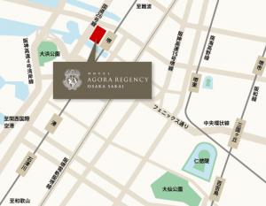 アゴーラリージェンシー堺 地図